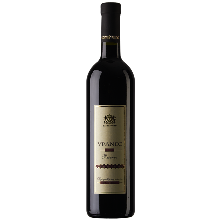 Ezimit Vino Vranec Reserve Red Macedonian wine