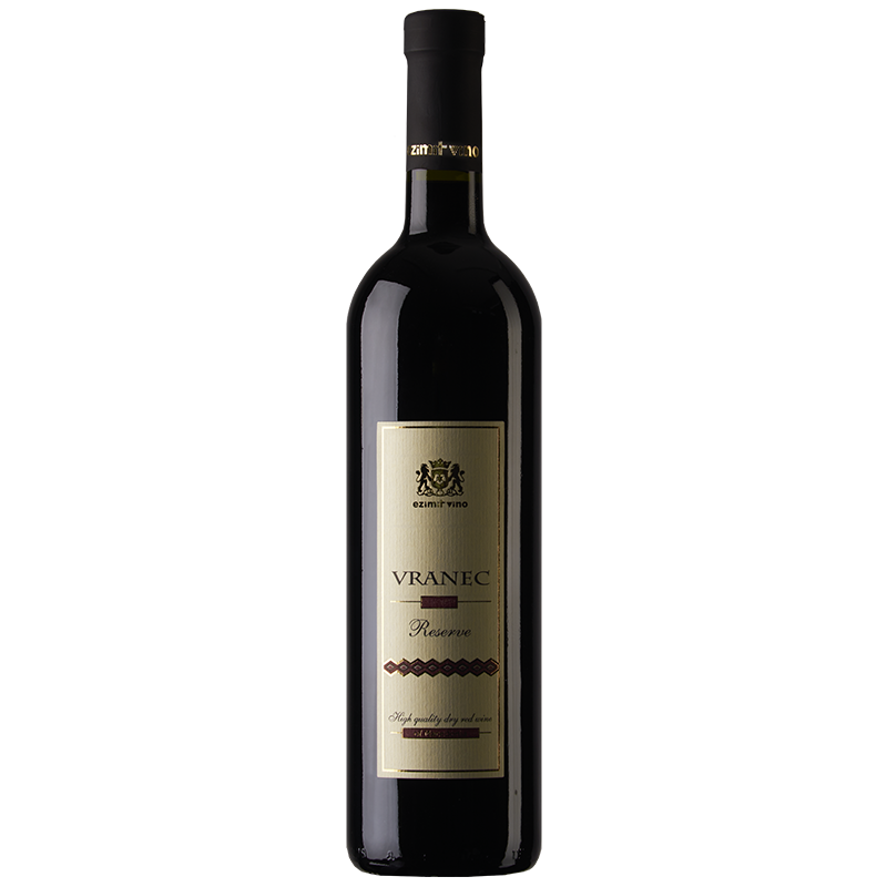 Ezimit Vino Vranec Reserve Red Macedonian wine
