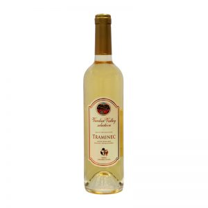 macedonian traminec white wine bottle