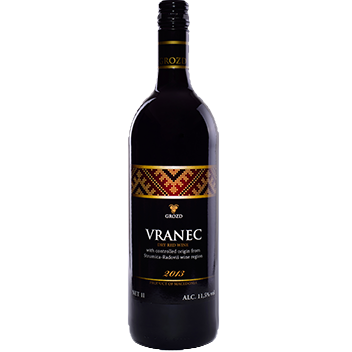 Macedonian wine vranec